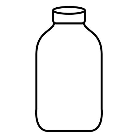 line nice clean bottle glass object