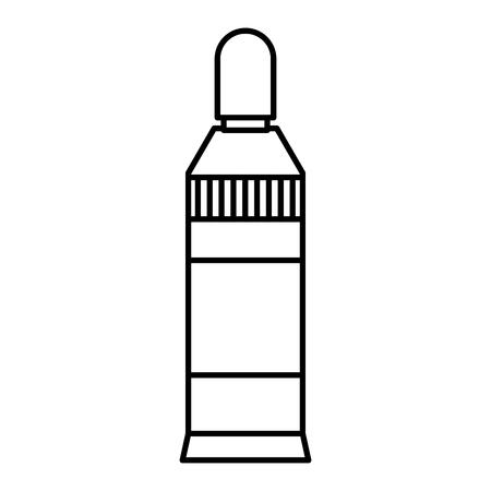 line creative glue object to papers homework Ilustração