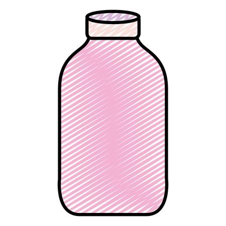 doodle nice clean bottle glass object