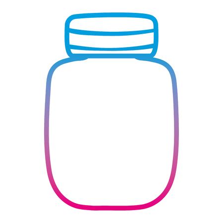 degraded line cute clean bottle glass object