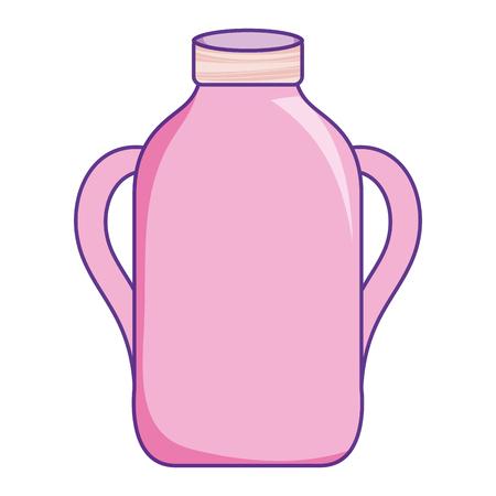glass mason jar preserve object vector illustration