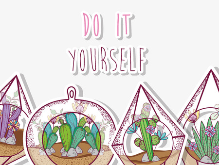 Do it yourself gardening concept