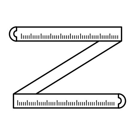 Line professional tape measurement distance tool