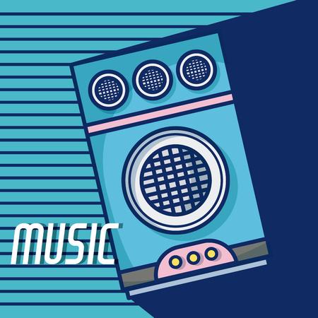 Party speaker modern music equipment