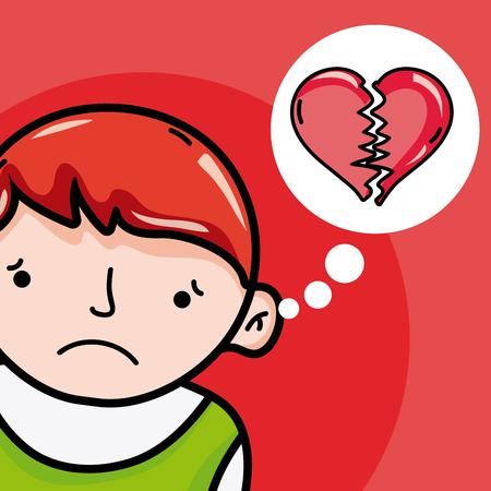 Childrens psychology cartoons Illustration