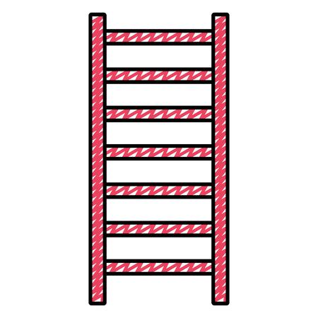 doodle vertical ladder step object construction