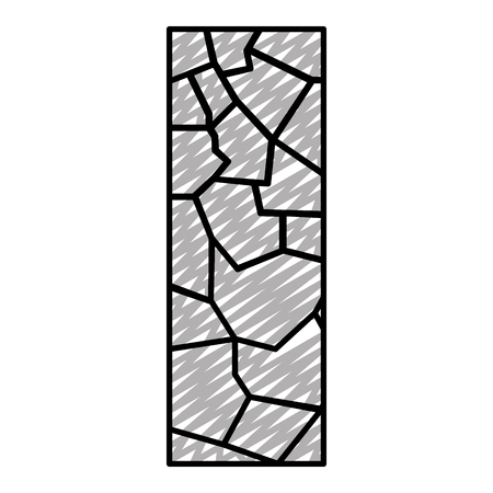 doodle wall texture stone block architecture