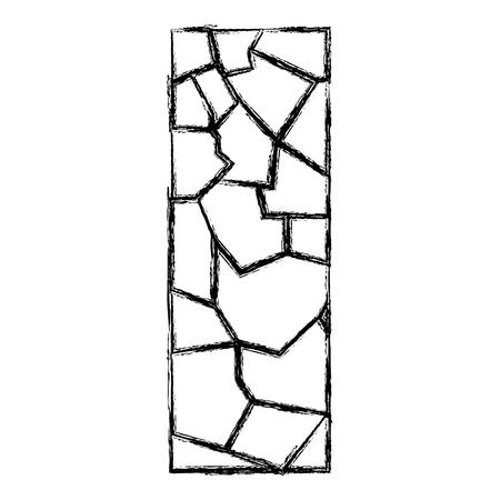 grunge wall texture stone block architecture