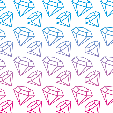 degraded line brillant luxury diamond stone accessory background vector illustration