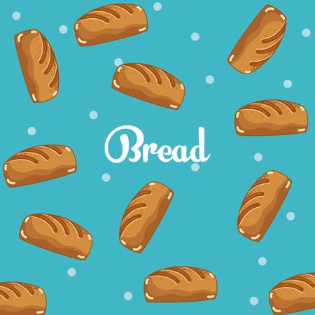 Breads pattern background