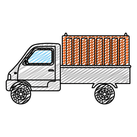 doodle delivery truck container transport service