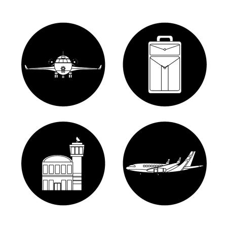 Set of transport air service