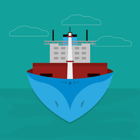 Maritime shipping and logistics