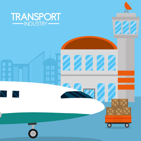 Transport industry concept