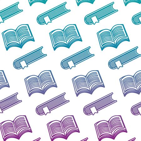 arrière-plan de style d'informations d'objet de livres en ligne dégradé