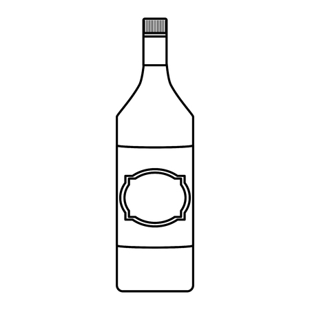línea aguardiente alcohol botella licor bebida