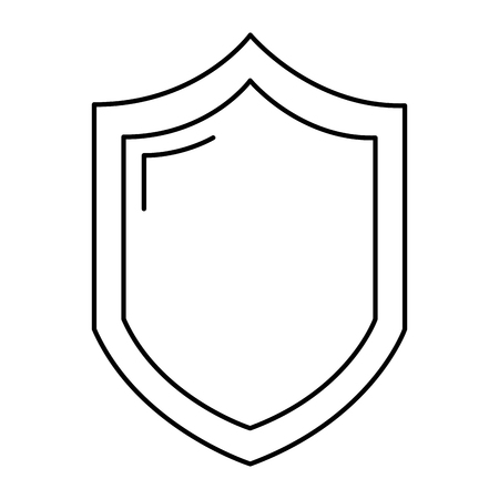 line security shield web protection access vector illustration