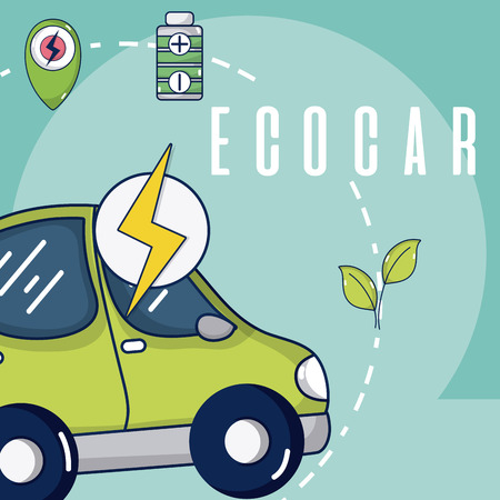 Electric ecocar vehicle