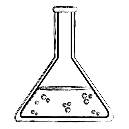 grunge lab flask chemical science experiment