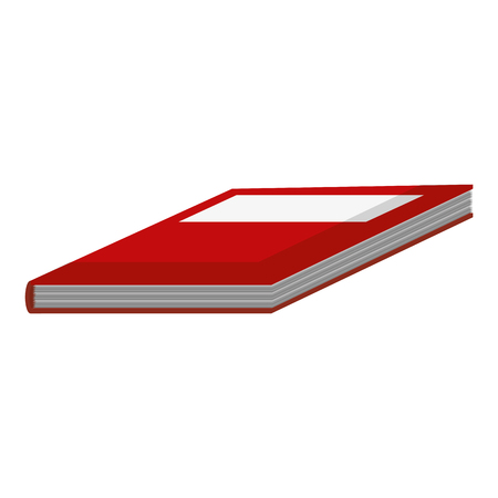 learn book education object to study vector illustration