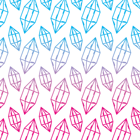 degraded line luxury diamond stone accessory background vector illustration