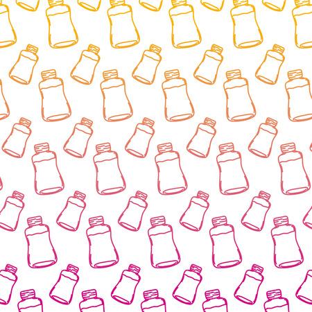 degraded line delicious juice healthy nutrition background vector illustration