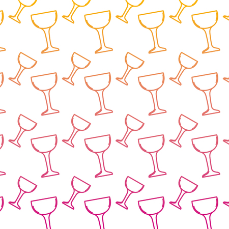degraded line crystal glass object style background vector illustration