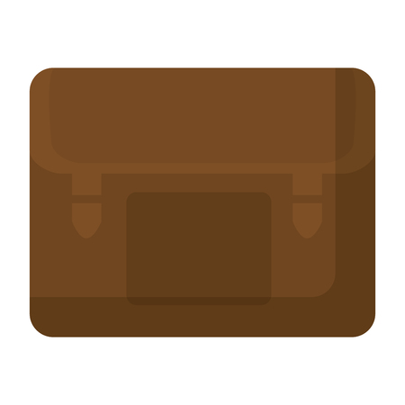 briefcase object to save important documents vector illustration