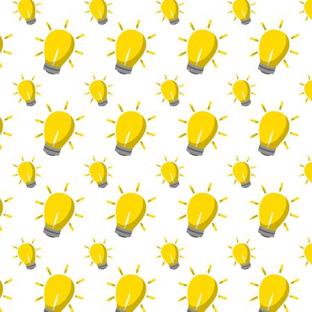 light bulb creative idea background vector illustration Illustration