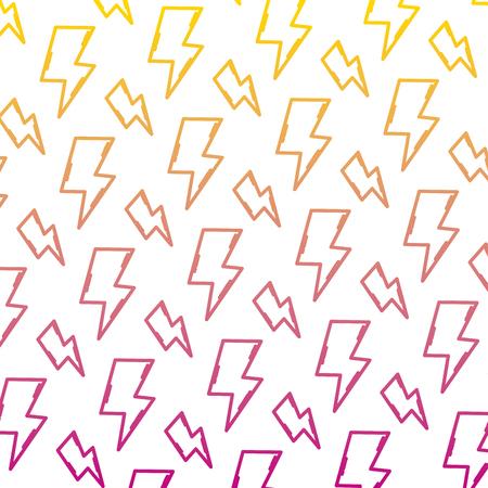 degraded line hazard energy power caution background vector illustration