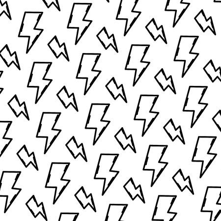 line hazard energy power caution background vector illustration