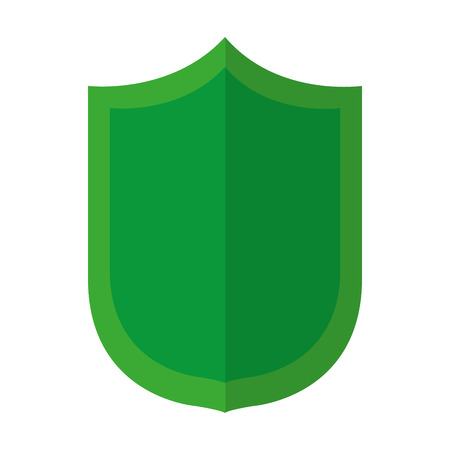 security shield protection web access vector illustration