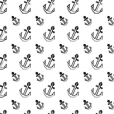 grunge nautical anchor symbol object background Reklamní fotografie - 105695619