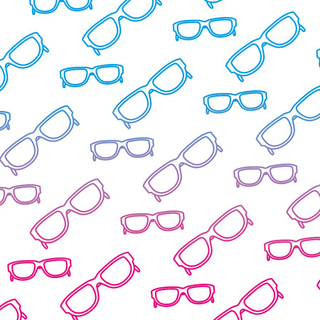 degraded line fashion sunglasses optical object background Stock Photo