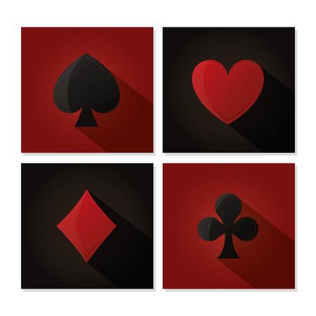 Casino leisure game vector illustration graphic design