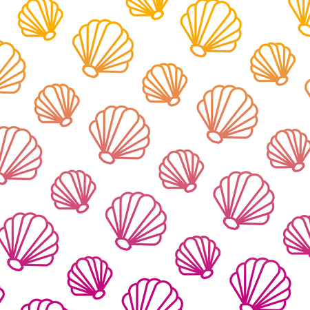 degraded line nice shell nature style background