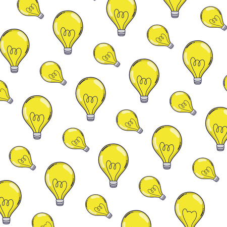 electric bulb energy object background