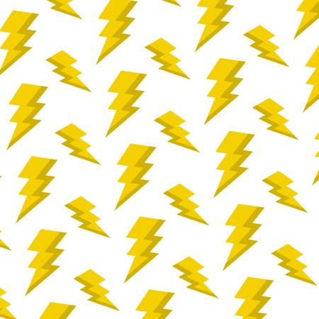 electric thunder darger symbol background vector illustration