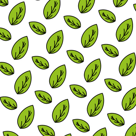 color botany nice leaf exotic background vector illustration 矢量图像