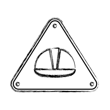 grunge caution area under construction sign notice vector illustration