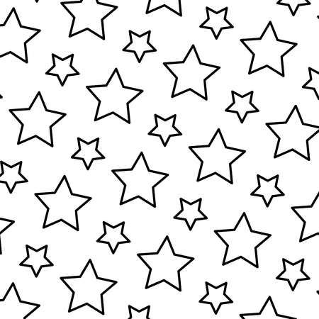 line beauty bright star universe background vector illustration Vectores