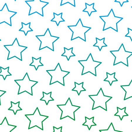 degraded line beauty bright star universe background vector illustration
