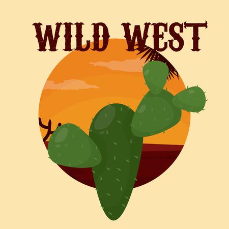 Wild west concept