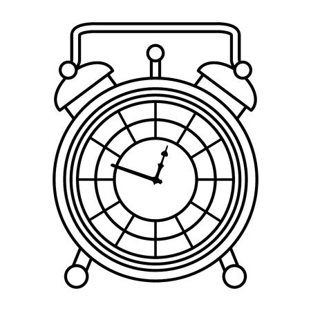 line luxury desk clock object design