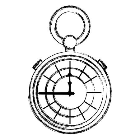 grunge luxury pocket watch fashion object
