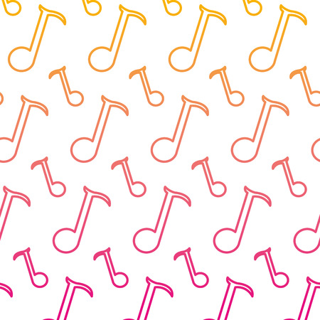 degraded line quarter musical note sign background