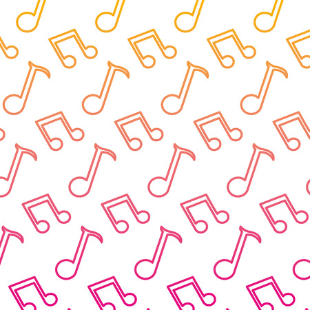 degraded line 2 eighth note and quarter sign background