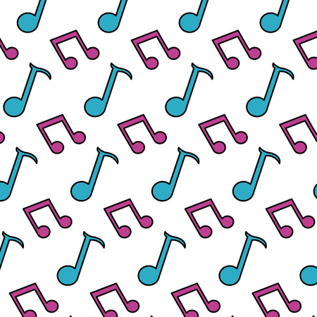 color 2 eighth note and quarter sign background