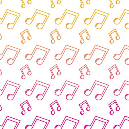 verschlechterte Linie 2 Achtel-Rhythmus-Hintergrund