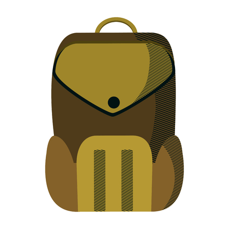 education backpack school tool design vector illustration